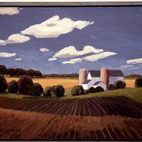 Lars-Birger Sponberg, New Seedlings, Oil on linen, 24 x 36 in.  (61 x 91.4 cm), Courtesy of the artist, Deerfield, Illinois