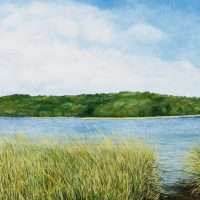 Anne T. Rich, Navesink, Oil on canvas, 30 x 48 in.  (76.2 x 121.9 cm), Courtesy of the artist, Baltimore, Maryland