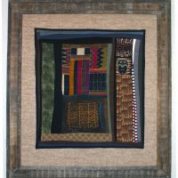 Rosemary Claus-Gray, Majesty, Quilt, Overall: 26 x 29in. (66 x 73.7cm), Courtesy of the artist, Dophinan, Missouri