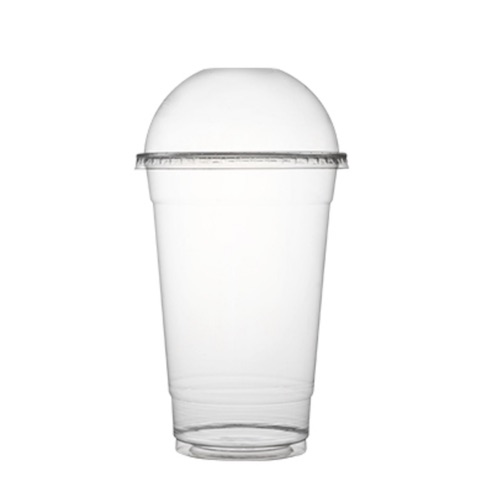 Fineline-Clear-Plastic-Dome-Lid-No-Hole-–-12-24-oz-–-3198DL-Cup