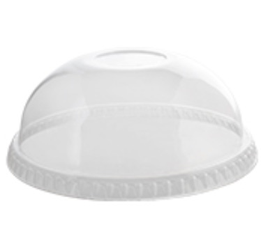 Fineline-Clear-Plastic-Dome-Lid-No-Hole-–-12-24-oz-–-3198DL