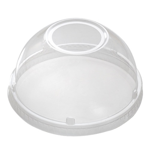 Fineline-Clear-Plastic-Dome-Lid-w-1.75-in-Hole-–-12-24-oz-–-3198DLHL