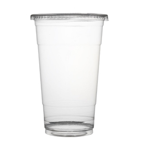 Fineline-Clear-Plastic-Straw-Slot-Lid-32-oz-31107FLS-Cup