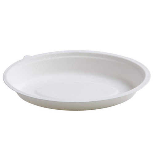 Conserveware-Compostable-Sugarcane-Oval-Bowl-24-oz-9.5-in-x-6-in-42OB24