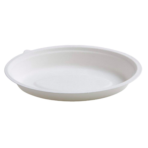 Conserveware-Compostable-Sugarcane-Oval-Bowl-32-oz-10-in-x-7.5-in-42OB32