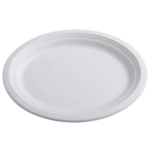 Conserveware-Compostable-Sugarcane-Oval-Plate-12.5-in-x-10-in-42OP1210