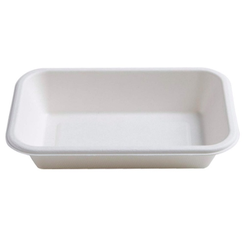 Conserveware Sugarcane Rectangular Bowl - 16 oz - 7″ x 4.5″ - 42RCB16