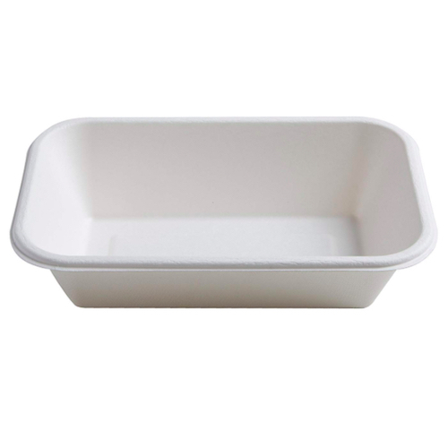 Conserveware-Compostable-Sugarcane-Rectangular-Bowl-32-oz-8.5-in-x-5.5-in-42RCB32