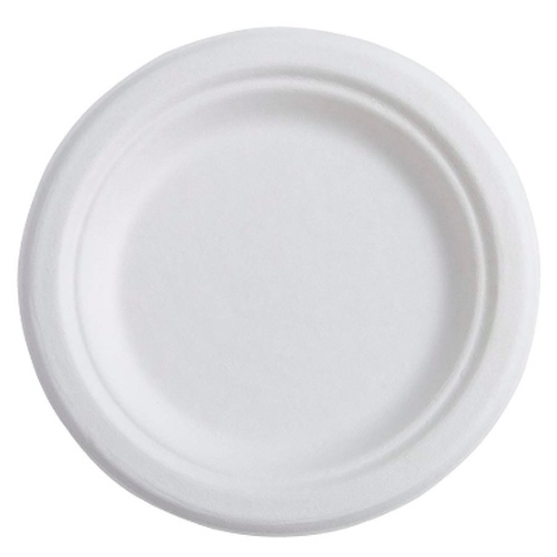 Conserveware-Compostable-Sugarcane-Round-Plate-6-in-42RP06