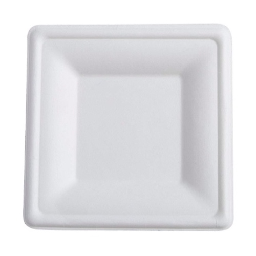 Conserveware-Compostable-Sugarcane-Square-Plate-8-in-42SP08
