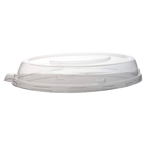 Conserveware PETE Clear Dome Lid for Oval Bowl - 24 oz - 9.5″ - 42OBL24