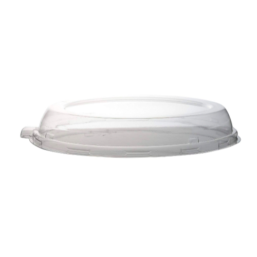 Conserveware PETE Clear Dome Lid for Oval Bowl - 32 oz - 10″ - 42OBL32