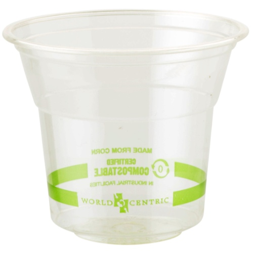 World Centric PLA Clear Cold Cup - 5 oz - CP-CS-5