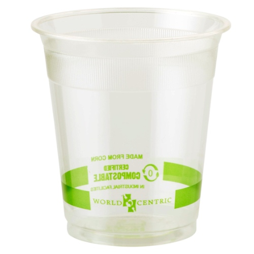 World Centric PLA Clear Cold Cup - 7 oz - CP-CS-7