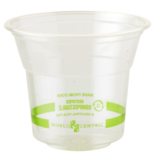 World Centric PLA Clear Cold Cup - 10 oz - CP-CS-10