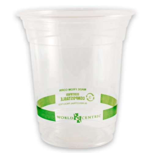 World Centric PLA Clear Cold Cup - 14 oz - CP-CS-14