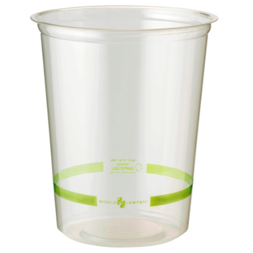 World-Centric-Clear-Round-Deli-Container-32-oz-DC-CS-32