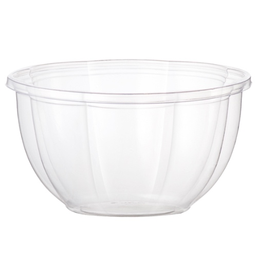 World Centric PLA Clear Salad Bowl - 16 oz - SB-CS-16