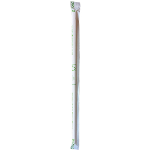 "World Centric Paper Kraft Straw Wrapped - 8"" - ST-PA-8W-K"