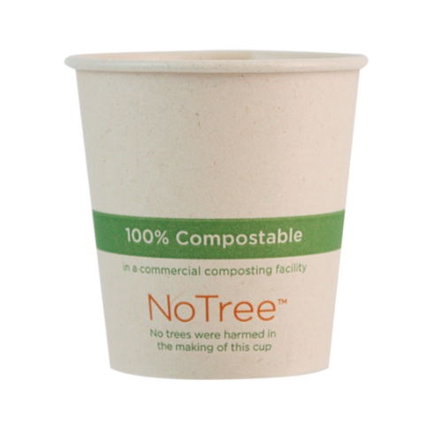 World Centric Paper NoTree Hot Cup - 4 oz - CU-SU-4