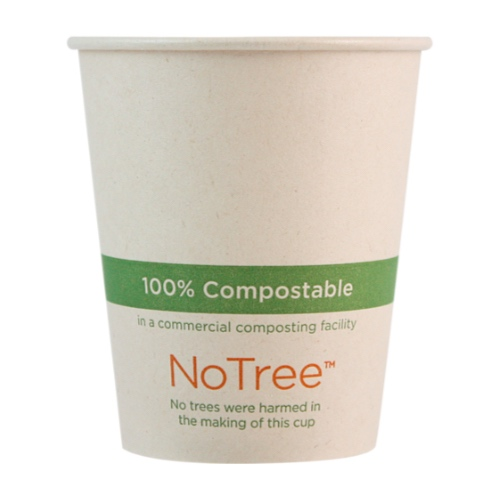World Centric Paper NoTree Hot Cup - 6 oz - CU-SU-6