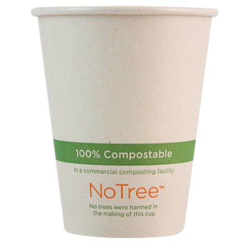 World Centric Paper NoTree Hot Cup - 8 oz - CU-SU-8
