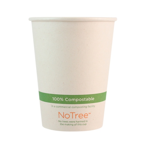 World Centric Paper NoTree Hot Cup - 12 oz - CU-SU-12