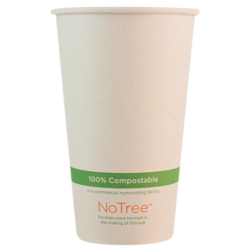 World Centric Paper NoTree Hot Cup - 16 oz - CU-SU-16