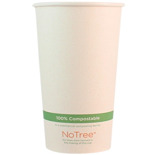 World Centric Paper NoTree Hot Cup - 20 oz - CU-SU-20
