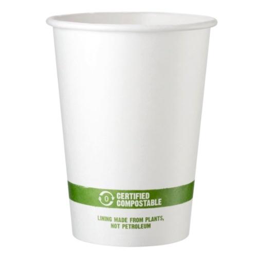 World Centric Paper White Bowl - 32 oz - BO-PA-32