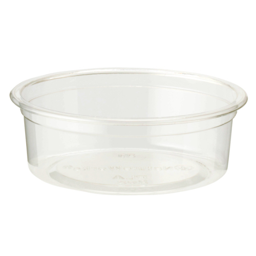 World Centric PLA Clear 2 oz Insert for Cold Cup - 9 oz - CPL-CS-2P