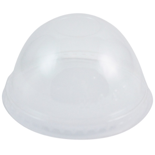 World Centric PLA Clear Dome Lid for Cold Cup - 9Q-24 oz - CPL-CS-12DP