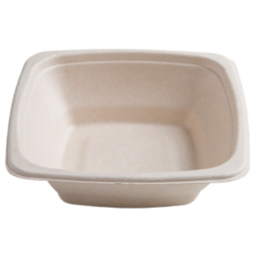 Conserveware-Compostable-Sugarcane-Square-Bowl-16-oz-7-in-42SB16