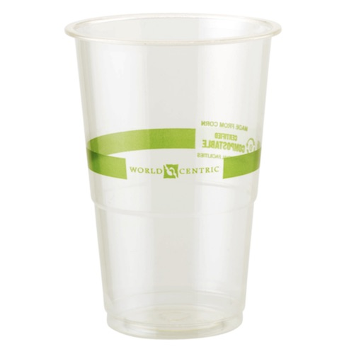 World Centric PLA Clear Cold Cup - 9 oz - CP-CS-9