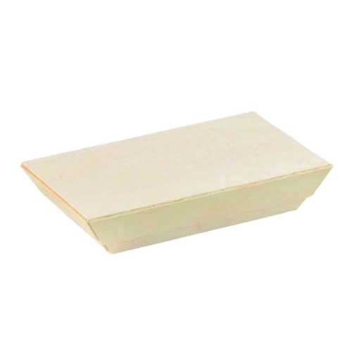 PacknWood Wood Flat Lid for Wood Dish - 10 oz - 210SAMLB85