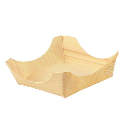 """PacknWood Wood Cradle Plate - 3.15"""" - 210BBUP32"""