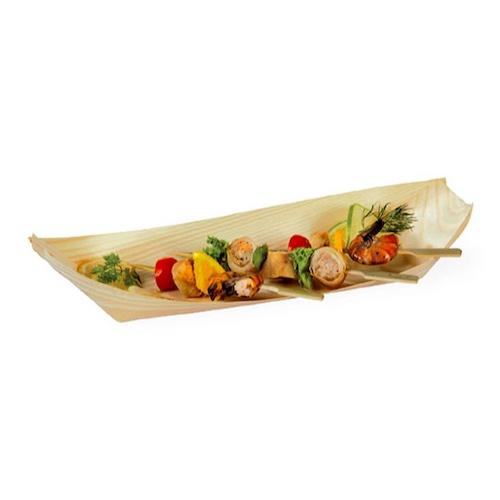 "PacknWood Wood Boat - 18 oz - 12.5"" x 4.3"" - 210BBOIS32"