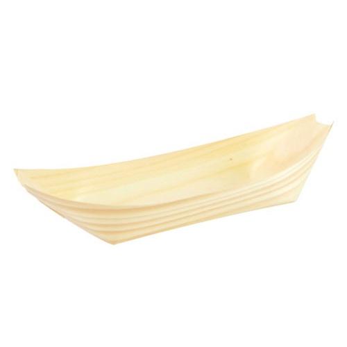 "PacknWood Wood Boat - 5 oz - 6.2"" x 3.5"" - 210BBOIS18"