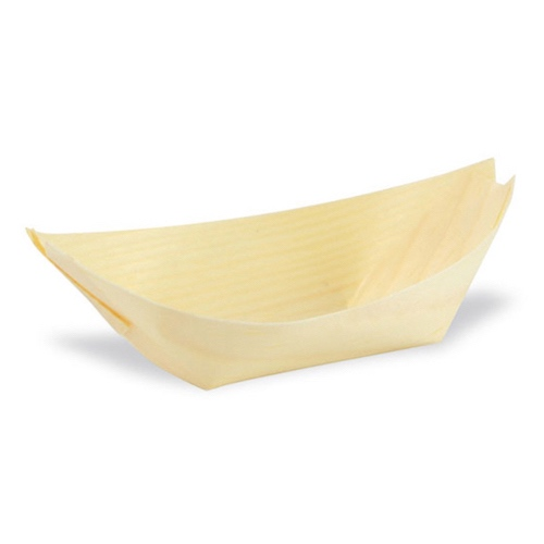 "PacknWood Wood Boat - 2.5 oz - 3"" x 2.5"" - 210BBOIS12"