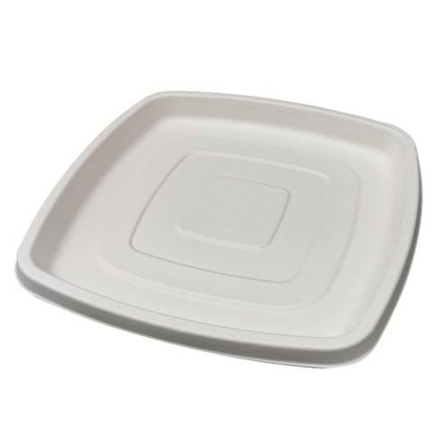 """PacknWood Sugarcane Square Platter - 12"""" - 210APUS318"""