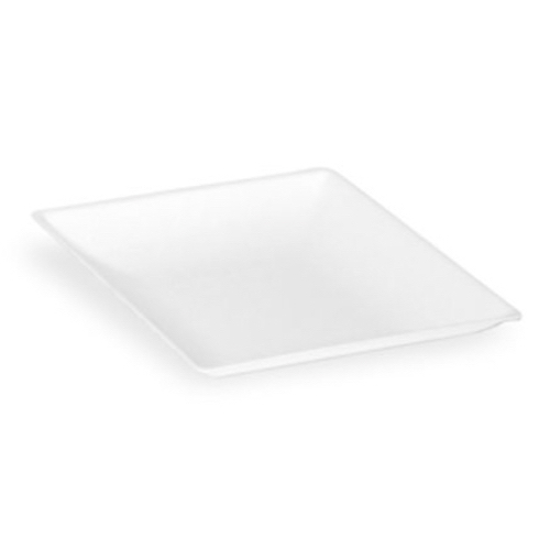 "PacknWood Sugarcane Square Plate - 3.5"" - 210BCHIC99"