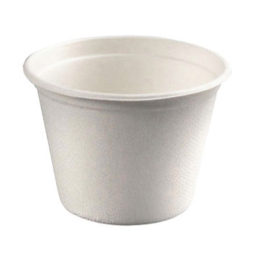 "PacknWood Sugarcane Soup / Ice Cream Bowl - 12 oz - 4.3"" - 210GPU350"