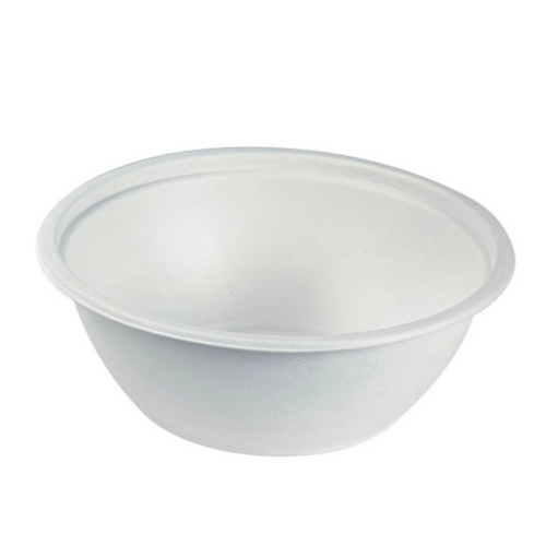 "PacknWood Sugarcane Salad Bowl - 50 oz - 8.66"" - 210APUB50"