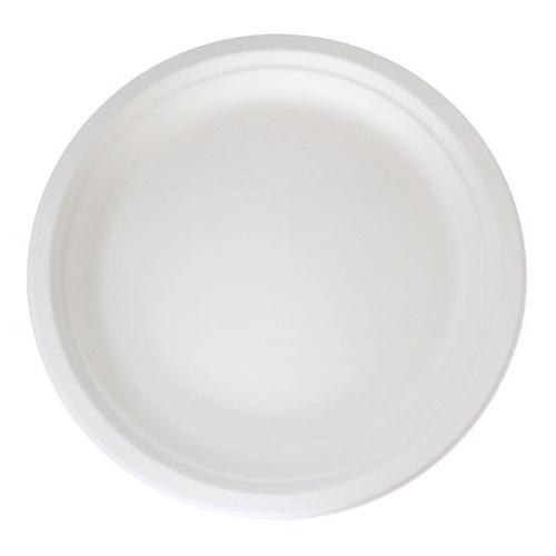 """PacknWood Sugarcane Round Plate - 8.74"""" - 210APU221"""