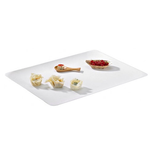 "PacknWood Sugarcane Rectangular Platter - 15.3"" x 11.4"" - 210BCHIC3929"
