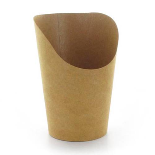 PacknWood Paper Kraft Wrap Cup - 14 oz - 210GSPK660