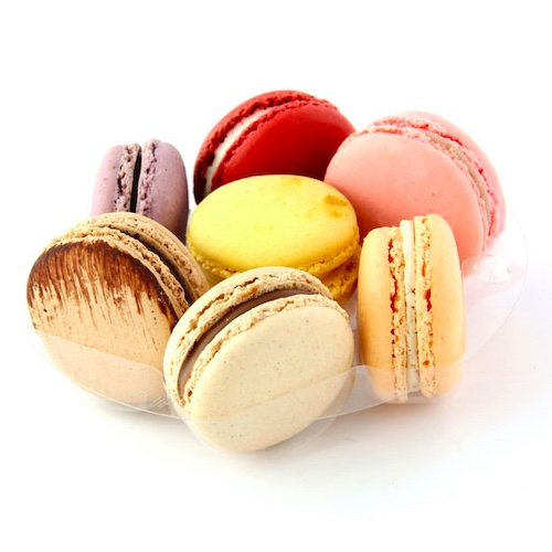 Macaron Cookie Container 6 x 5.4 210MACINS12 Clear Plastic Macaron Box Insert Case of 75 PacknWood