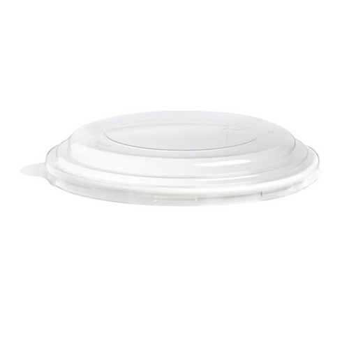 PacknWood PET Clear Dome Lid for Salad Bucket - 52 oz - 210PCL1501L