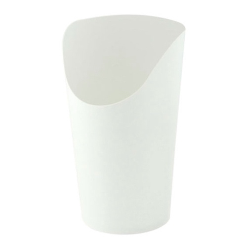 PacknWood Paper White Wrap Cup - 12 oz - 210GSPW480