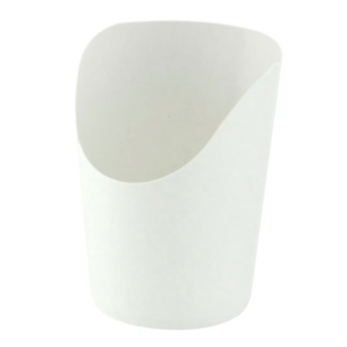 PacknWood Paper White Wrap Cup - 6 oz - 210GSPW270